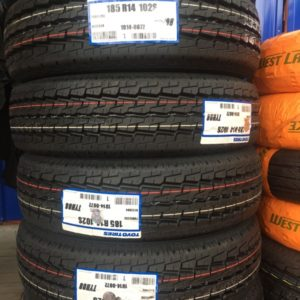 185R14 Toyo Japan 8ply bnew tire