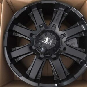 20″ x9 Black Mamba Death Strike Bnew Mags(6H-PCD139)
