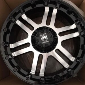 20″ Black Mamba Cerebros AZ312 Machine face Bnew Mags(6H-PCD139)
