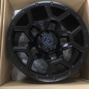 20 inch Blackrhino overland wheels 6Holes pcd 139