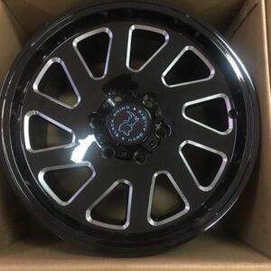 17 inch blakcrhino Thrust Bnew magwheels orig 6Holes pcd 139