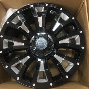 20 Pinatubo Blackrhino wheels 6H pcd 139