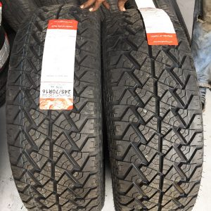 31×10.5R15  Chengshan Tire Bnew 6ply