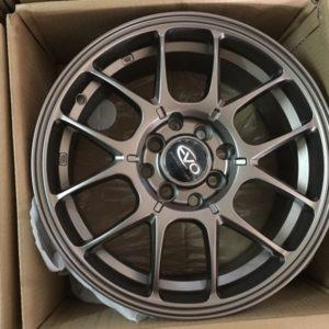 15″ Evo D2795 bnew magwheels 4H PCD100-114