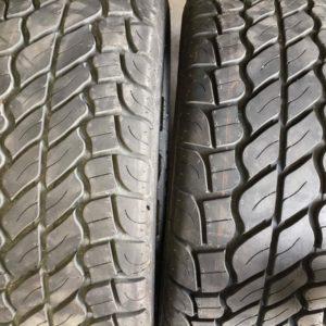 2pcs 265.65.r17 Radar used tires thick