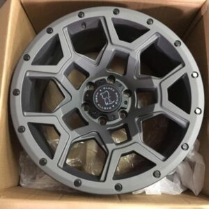 18″ Blackrhino overland gunmetal 6Holes pcd 139 magwheels