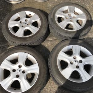 4pcs 15 Honda jazz 5spoke mags with 175 65 r15 westlake