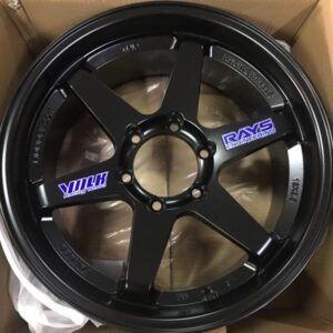 17″ Te37 Black Bnew Mags 6Holes PCD139
