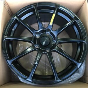 17″ Advan RS STW244 Black Magwheels 5Holes pcd 114