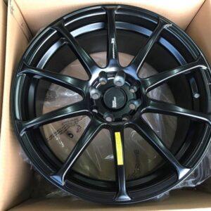 17″ Advan RS STW244 4Holes pcd 100 n 114 Black bnew magwheels