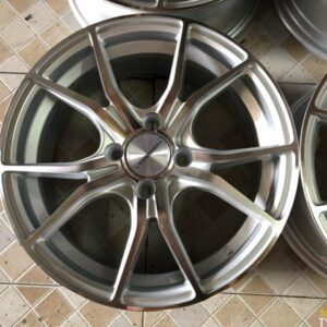 15″ Voss Stw531 Silver 4 Holes pcd 100 bnew magwheels