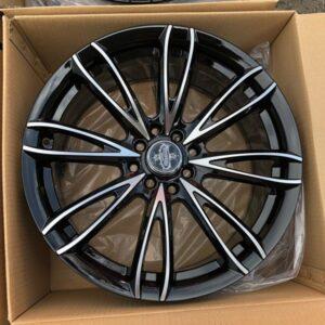 17″ Versante STW489 Black 4Holes pcd 100-114 bnew magwheels
