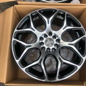 4pcs 17 Stw465 polish black magwheels 5Holes pcd 100-114