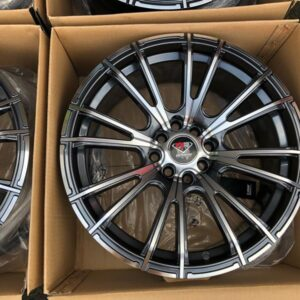 17″ Dcenti STW498 Gray 4Holes pcd 100-114 bnew magwheels