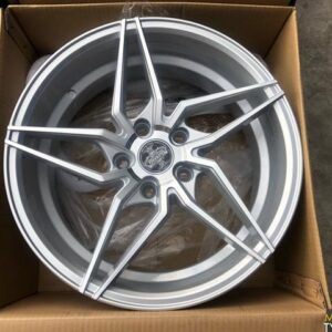 4pcs 17 Dcenti LM101 Silver magwheels 5Holes pcd 114