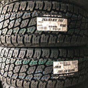 265-65-r17 Nitto terra Grappler G2 Bnew Tires Japan