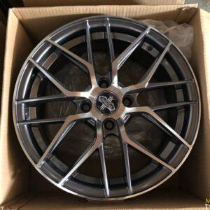15″ Versante Stw555S Gray 4holes pcd 100 bnew magwheels