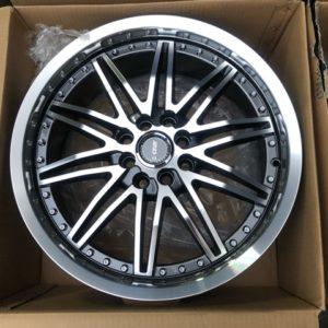 15″ RSW130 gray polish 4Holes pcd 100-114 bnew magwheels