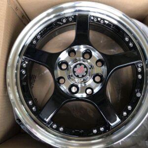 14″Scarlet STW096 magwheels bnew 4 Holes pcd 100-114