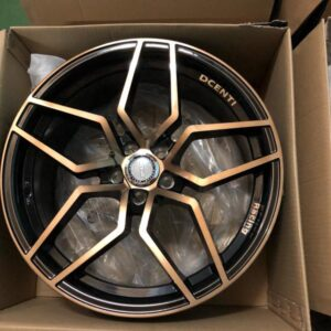 18″ Dcenti Mesh STW554 mags 5holes pcd 100 Bronze tint