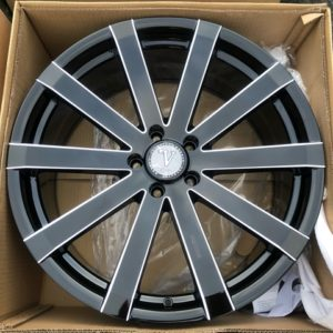 20″  Vw12AN Black Bnew Mags 5Holes PCD 114 m