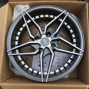 17″ Dcenti LM101R gray 4Holes pcd 114 bnew magwheels