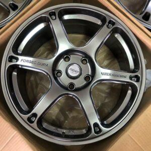 18″ Dura HyperBlack 5Holes pcd 114 bnew magwheels