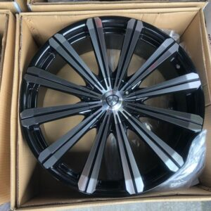 22″ B18 Borghini bnew mags 5Holes PCD114-120