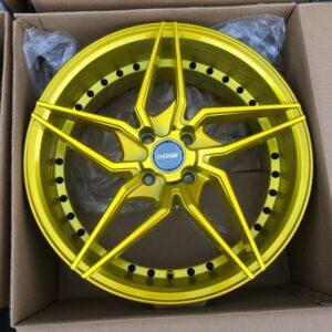 17″ Dcenti LM101R Gold 4Holes pcd 100 magwheels bnew