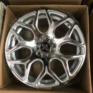 4pcs 17 Stw465 Silver magwheels 5Holes pcd 100-114