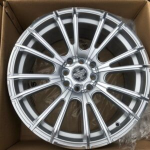 17″ Dcenti STW498 Silver 4Holes pcd 100-114 bnew magwheels