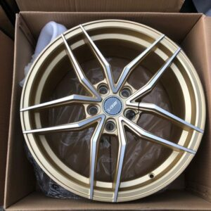 18″ Dcenti STW553 Gold 5holes pcd 114