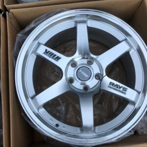 18″TE37 dcenti Stw-457 Polish silver bnew mags(5H-PCD114)