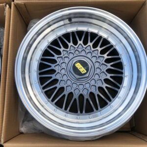 17″ BBS RS Gray STR606  magwheels 5Holes pcd 100-114