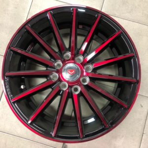 15 L560 Red spoke magwheels 4Holes pcd 100 n 114
