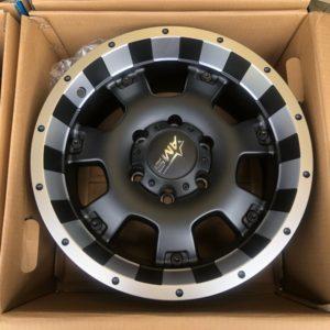 17″ AMS Blast MBMF Original 6Holes pcd 139 bnew magwheels