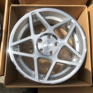17″ Star Av5217 Polish 5Holes pcd 114 Brandnew magwheels