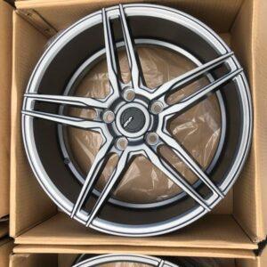 17″ ADV5 Gunmetal 5Holes pcd 114 Brandnew magwheels