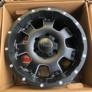 17″ AMS Blast MBlack Milling MBM Original 6Holes pcd 139 bnew magwheels