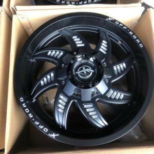 20″ Xfinity L1449 mags 6Holes pcd 139 bnew magwheels