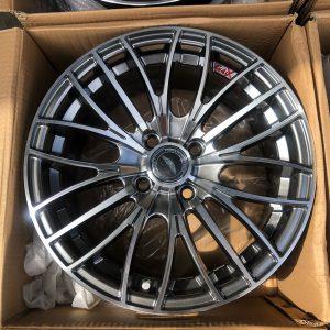 15 Mixx 886 Magwheels 4Holes pcd 100 hyperblack