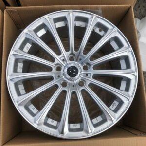 17 L223 Z-Silver Multispoke magwheels 5Holes pcd 114