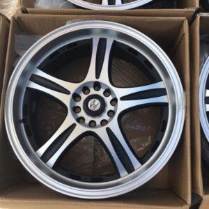 18 GT353 Magwheels 5Holes pcd 105 n 114 Machine polish