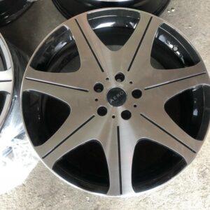 4pcs 19 Aero magwheels 5Holes pcd 114 polish