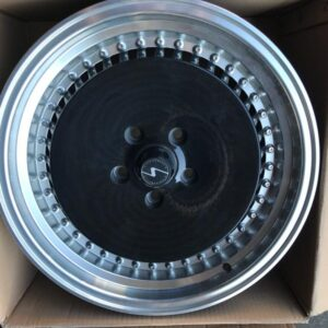 17″ Xtuning Plato type black color 5Holes pcd 114