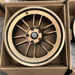17″ Rays Bronze 5Holes pcd 114 bnew magwheels