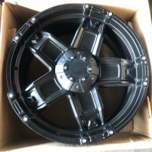 4pcs 20″ T10 Black Magwheels 6Holes pcd 139 no emblem