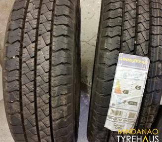 195 r14 Goodyear Cargo G26 8ply  Bnew Tire