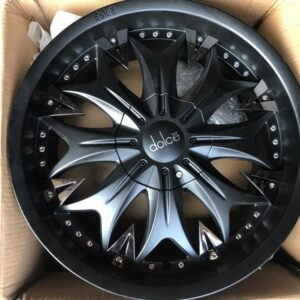 20 Dolce Black bnew magwheels 6Holes pcd 139