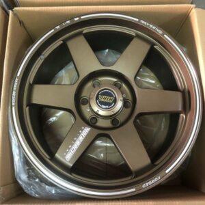 20″ TE37 Ultra Bronze Bnew magwheels 6holes pcd 139